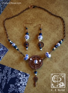 You might see jewelry, but I see symbols and ideas from my novel-in-progress.